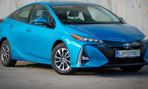 Test: Toyota prius plug-in hybrid 1,8 VVT-I sol