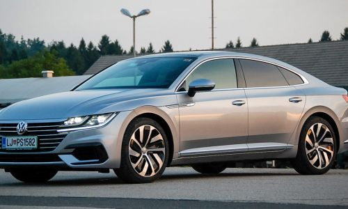 Test: VW arteon 2.0 TDI 4motion R-line