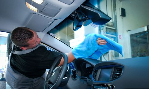 Higiena avtomobilskih stekel