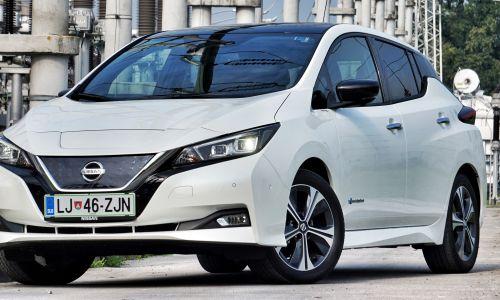 Test: Nissan leaf tekna 40 kW