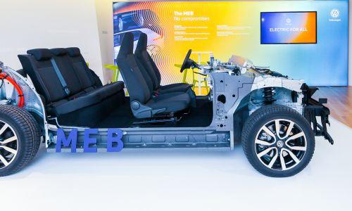 Volkswagnova modularna platforma za električne avtomobile