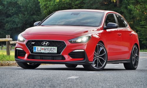 Kratek test: Hyundai i30 N fastback performance
