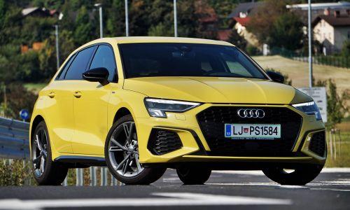 Test: Audi A3 sportback 35 TFSI S tronic S-line