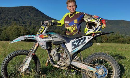 Pogovor: Miha Vrh, mladi motokrosist