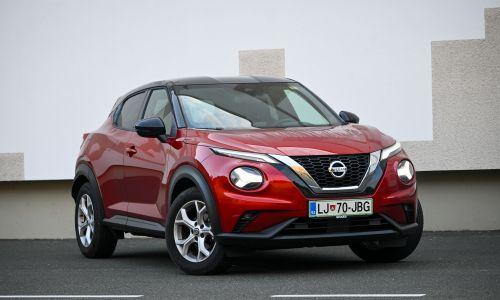 Kratek test: Nissan juke 1.0 DIG-T 117 N-connecta