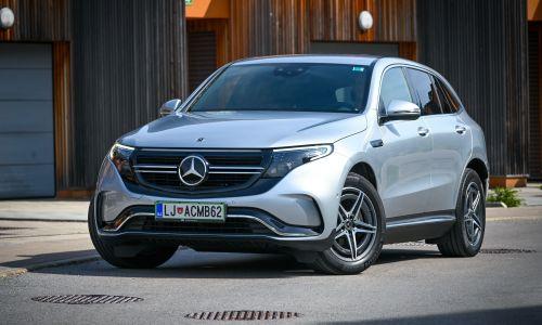 Test: Mercedes EQC 400 4matic