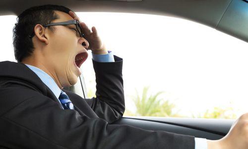 AMZS raziskava o zaspanosti in utrujenosti za volanom