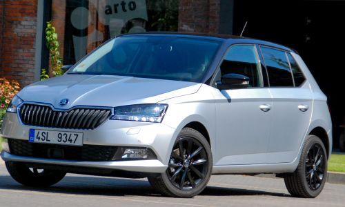 Za volanom: prenovljena Škoda fabia in fabia combi