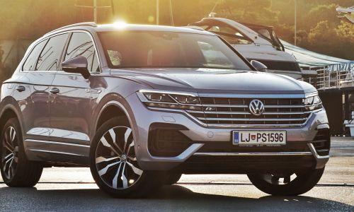 Test: Volkswagen touareg 3.0 V6 TDI R-line