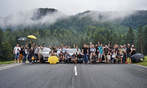 Foto delavnica Motorevije, Nikona in Škode za člane AMZS