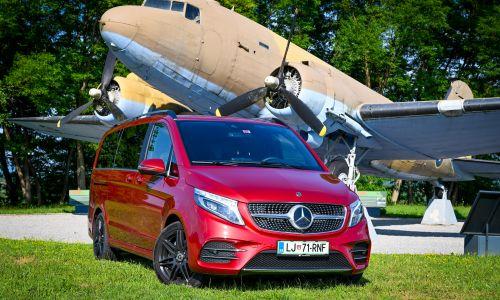 Kratek test: Mercedes V 300 d 4matic AMG line