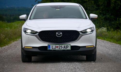 Kratek test: Mazda CX-30 GT plus
