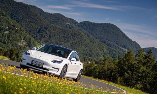 Test: Tesla model 3 long range dual motor all-wheel drive