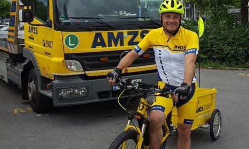 Na cesti vam pomagamo tudi z električnim kolesom