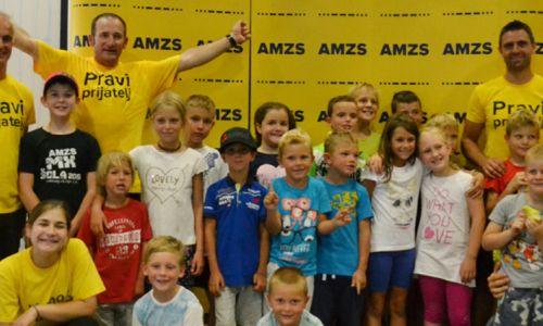 Otroci na AMZS motošportnem dnevu žareli od navdušenja
