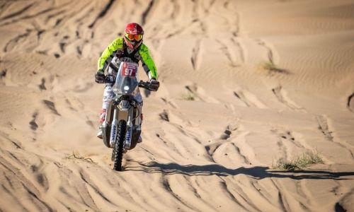 Simon Marčič reli Dakar zaključil najbolje doslej
