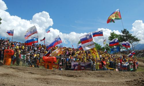 Slovenski navijači Gajserja ponesli na tretje mesto, Irta do prve točke