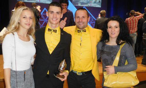 Tim Gajser postal 3. najboljši športnik Slovenije 2016
