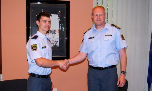 Tim Gajser je postal policist