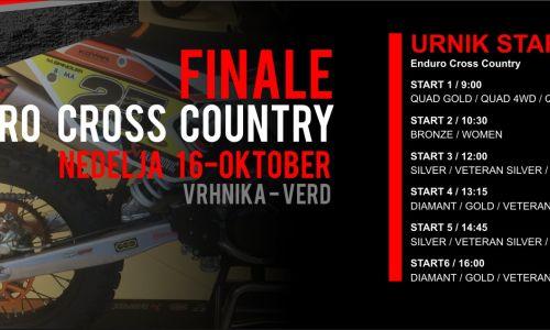 V nedeljo finale DP v cross countryju