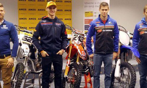 MX - četverica Gajser, Gerčar in brata Irt se veseli začetka sezone