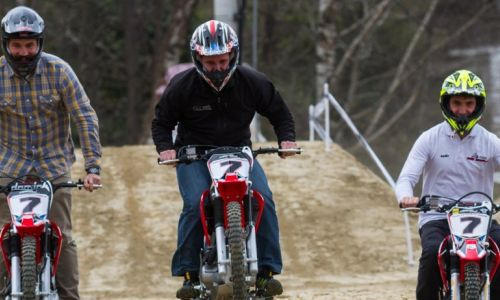 Otvortitev športnega centra motokros akademije Sašo Kragelj