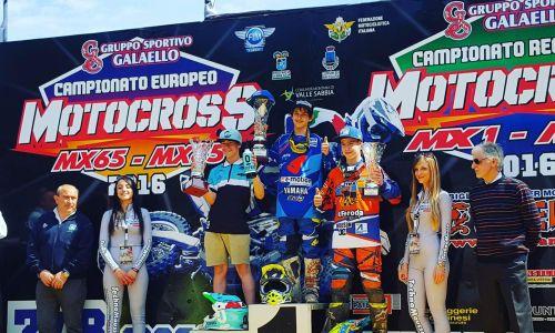 Maks Mausser odličen tretji na dirki EMX 85 v Italiji