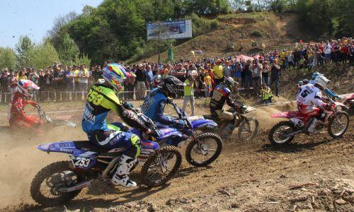Tim Gajser zmagal na uvodni dirki državnega prvenstva v Brežicah