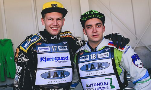 Škorja in Ivačič na polfinalu EP v speedwayu
