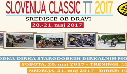 Mednarodna dirka Slovenija CLASSIC TT v Središču ob Dravi