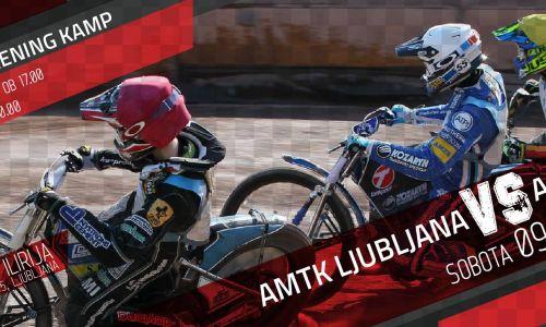 V Ljubljani speedway kamp in klubska dirka AMTK Ljubljana - AMD Krško
