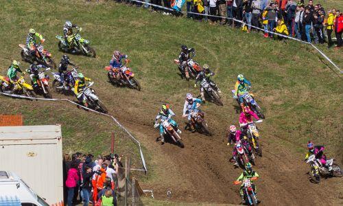 Milec, Urbas in Sršenova so tekmovali na EMX v motokrosu