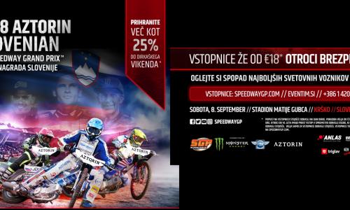 Vabljeni na dirko svetovnega prvenstva v speedwayu za VN Slovenije!