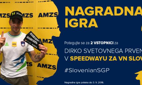 Podarjamo dve vstopnici za dirko za VN Slovenije v Krškem