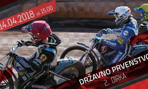 V Ljubljani v soboto druga dirka DP v speedwayu