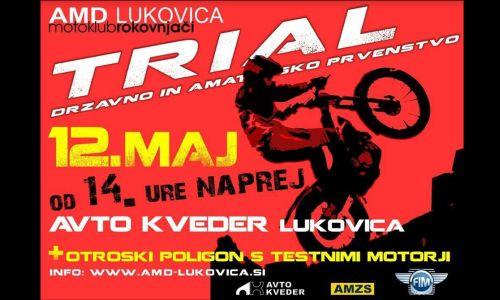 V Lukovici bo v soboto prva dirka DP v trialu