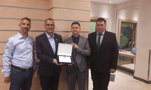 Kongres FIM Evropa v Zagrebu s priznanjem za AMZS.