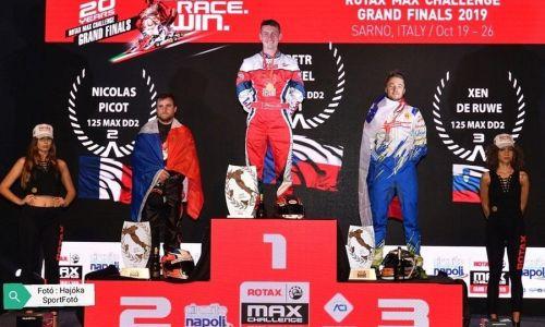 Na tekmovanju Rotax Grand Finale prvič na stopničkah predstavnik Slovenije