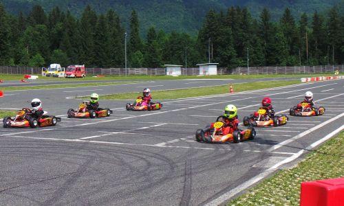 Karting dirko na Vranskem zaznamovali ostri boji za točke državnega prvenstva