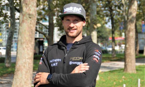 Klemen Gerčar v vlogi šefa moštva 62 motosport