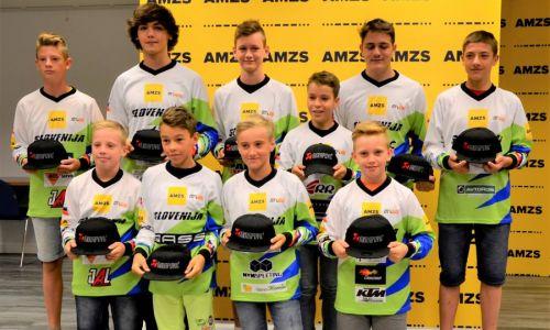 Slovenski mladi upi odhajajo na svetovno mladinsko prvenstvo v motokrosu