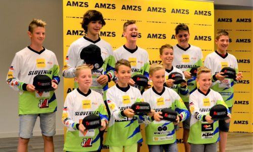Slovenci na mladinskem svetovnem prvenstvu v Italiji v ozadju