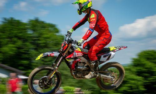 Za konec državnega prvenstva v motokrosu napete vožnje