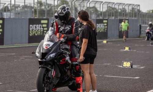 Cestno hitrostni motociklisti za točke državnega prvenstva vozili na Pannonia Ringu