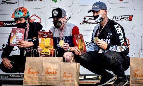 Šorn tretji na dirki z e-kolesi