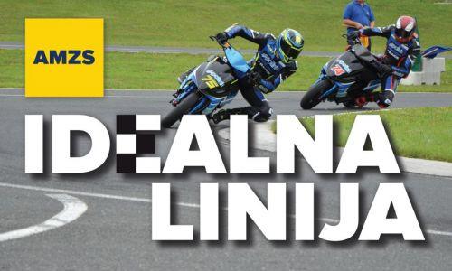 AMZS Idealna linija o uspehu Mateja Žagarja ter dveh dirkah državnega prvenstva na Vranskem