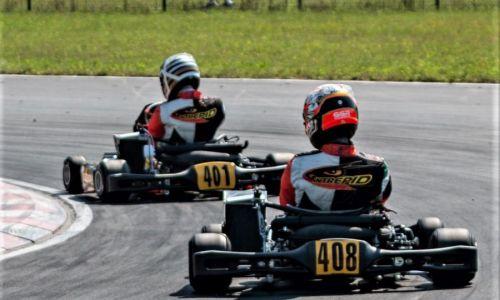 Vroče na stezi na prvi dirki državnega prvenstva v kartingu