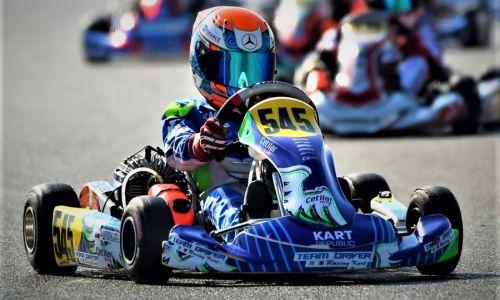 Mark Kastelic na karting dirki serije WSK Super Master osvojil šesto mesto