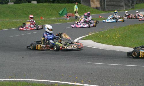 Napete karting dirke s številno udeležbo na Vranskem