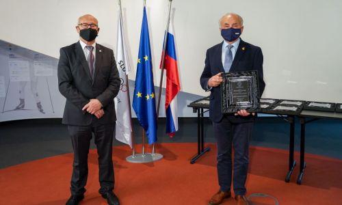 AMZS prejel Častno listino OKS - ZŠZ